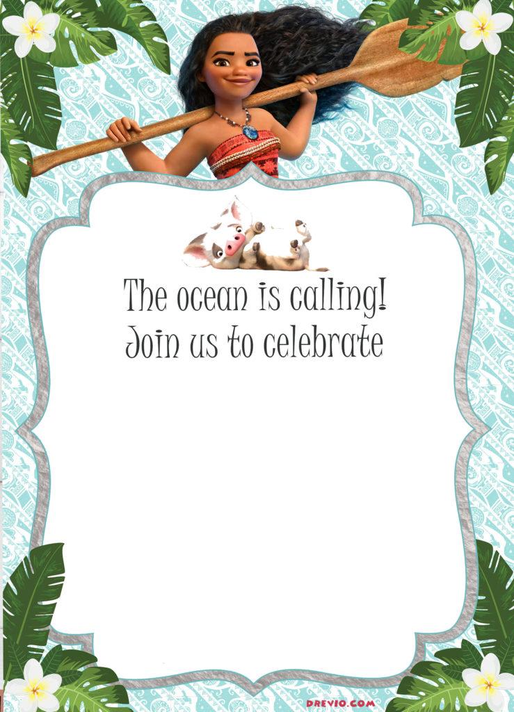 10 Heartwarming Moana Birthday Invitations For You