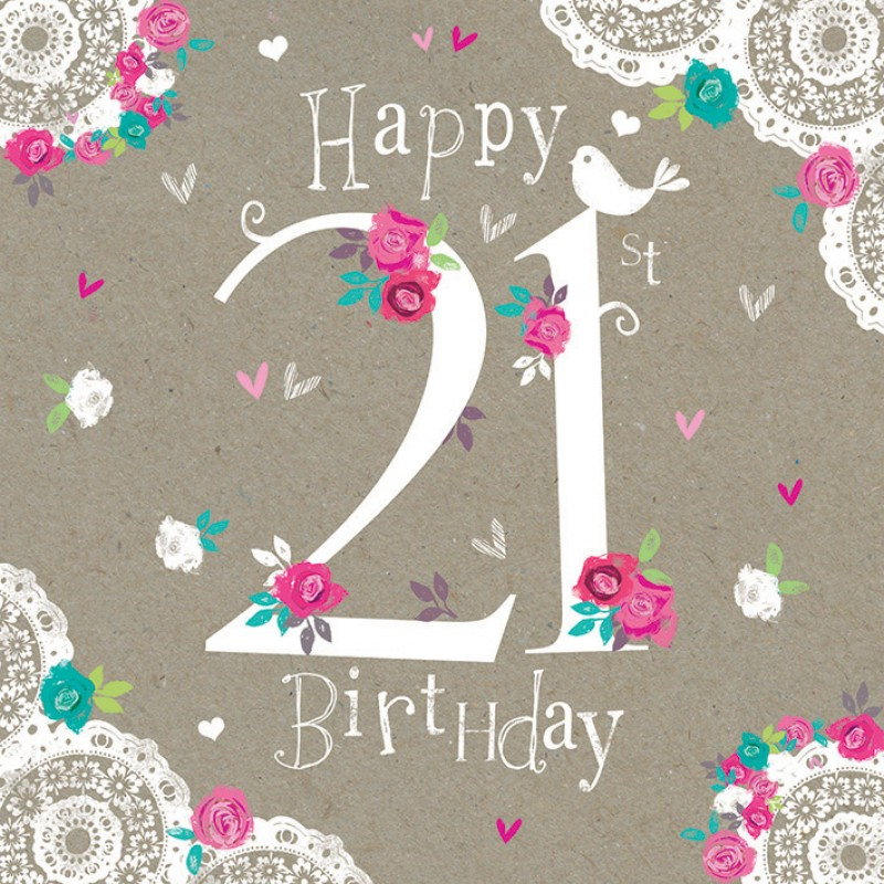 100 Happy 21st Birthday Wishes Messages Quotes Images