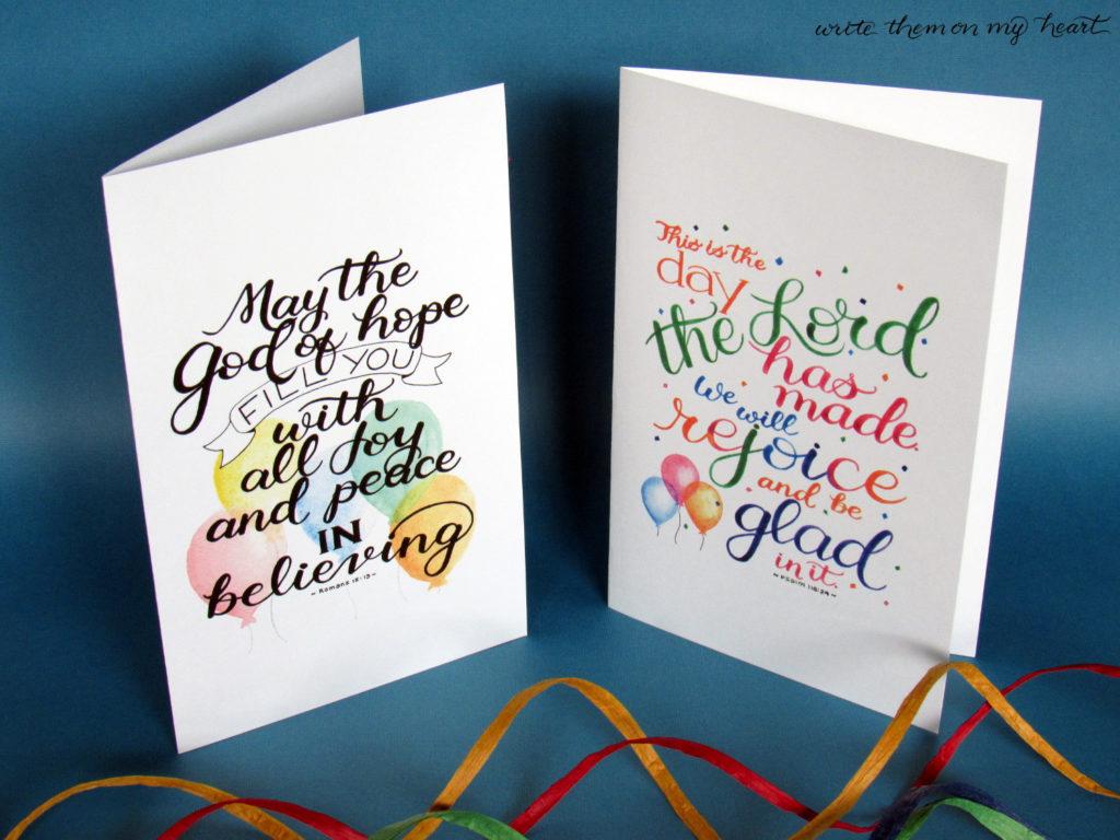 17 Printable Bible Birthday Cards Write Them On My Heart