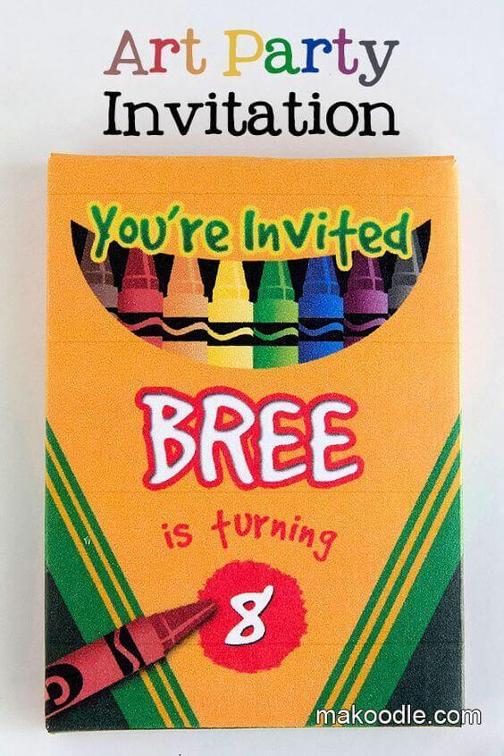 19 Creative Crayola Crayon Party Ideas Spaceships And