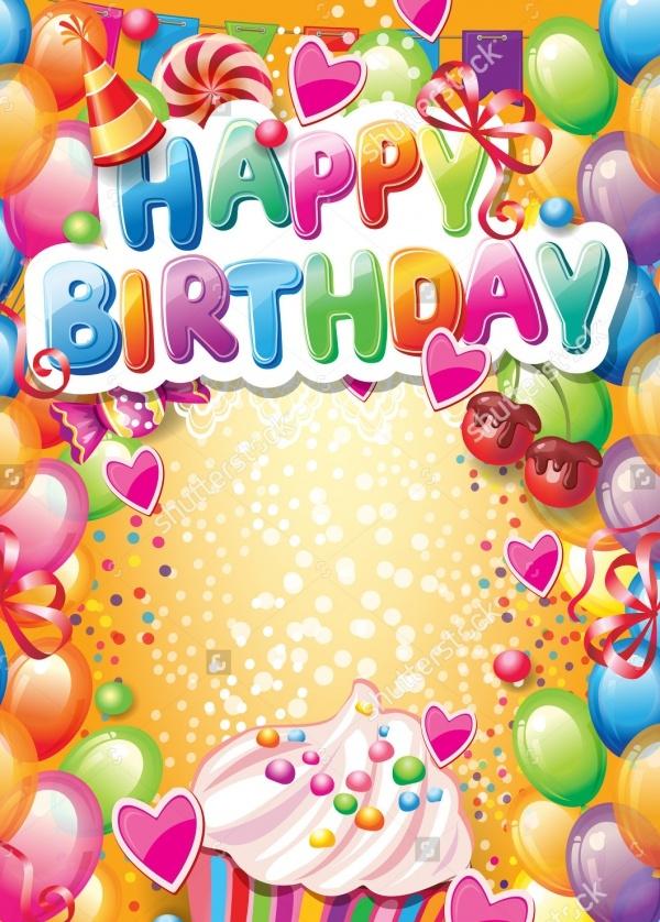 21 Birthday Card Templates PSD Vector EPS JPG