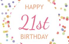 Printable Birthday Cards 21