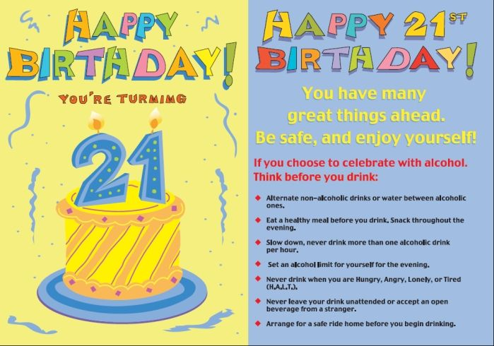 21st Birthday Ideas For Celebrations Http www
