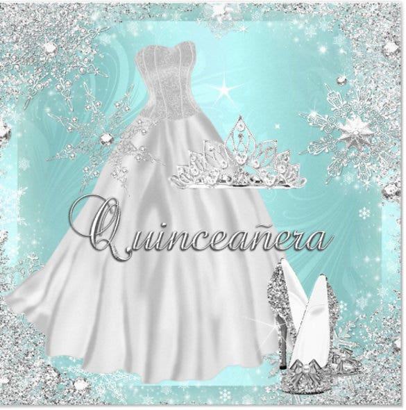28 Quinceanera Invitations Templates PSD Vector EPS