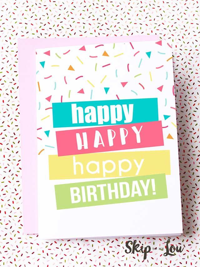 30 Handmade Birthday Card Ideas DIY Birthday Cards