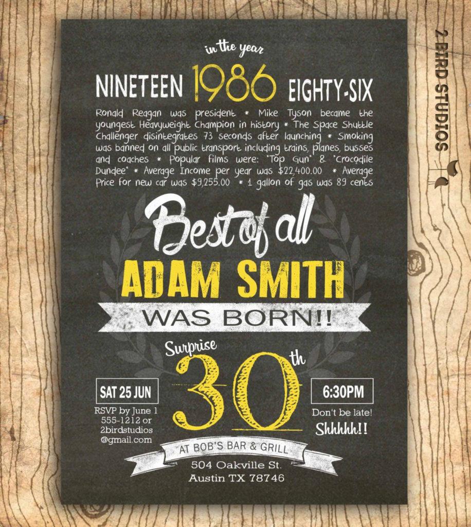 30th birthday invitations wording funny Funny Birthday