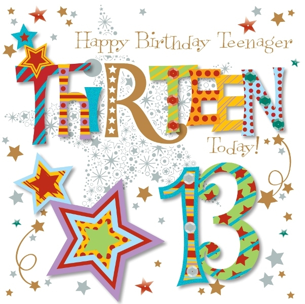 31 Cool Images For 13th Birthday