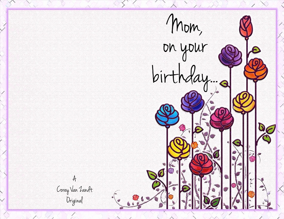38 Beautiful Birthday Cards For Mom KittyBabyLove
