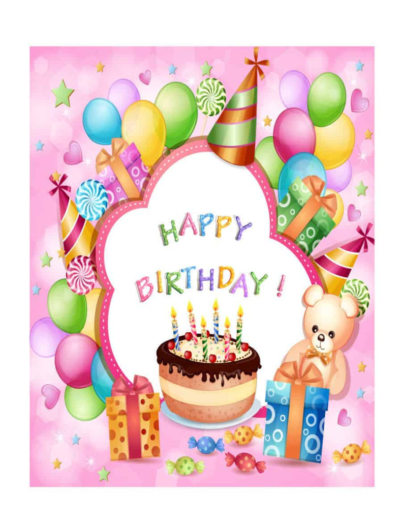 41 Free Birthday Card Templates In Word Excel PDF