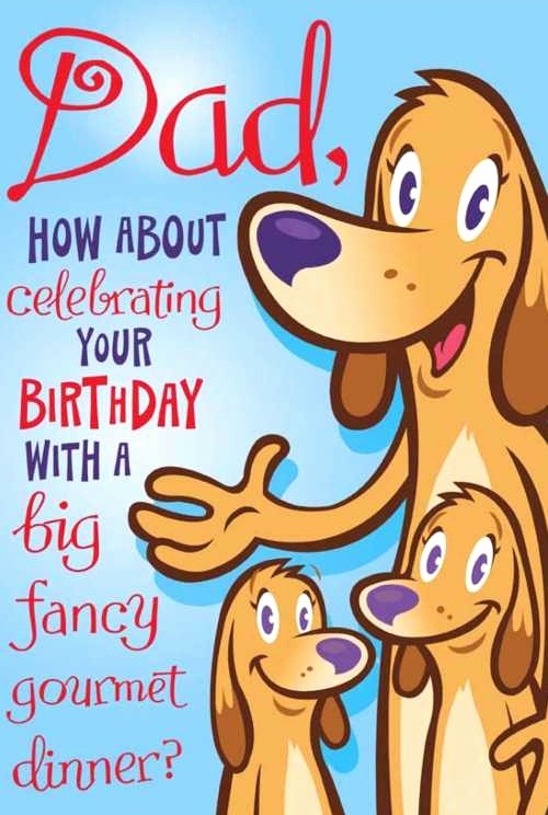 56 Cute Birthday Cards For Dad KittyBabyLove