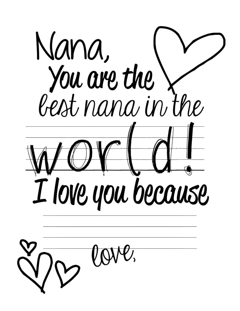 7 Best Images Of Mother s Day Nana Printable Cards