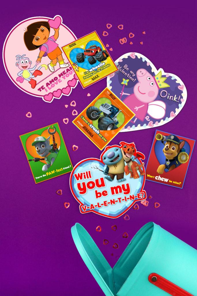 8 Cute DIY Nick Jr Valentine s Day Cards Nickelodeon