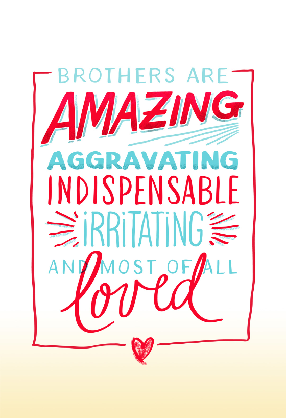 A Great Brother Birthday Card Free Greetings Island