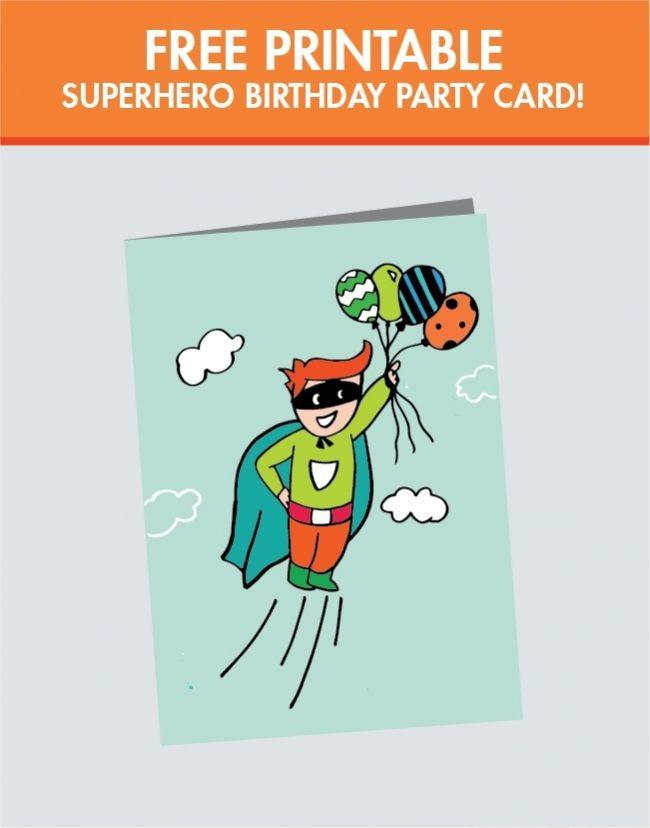 A Superhero Birthday Party For A Super Boy Funny