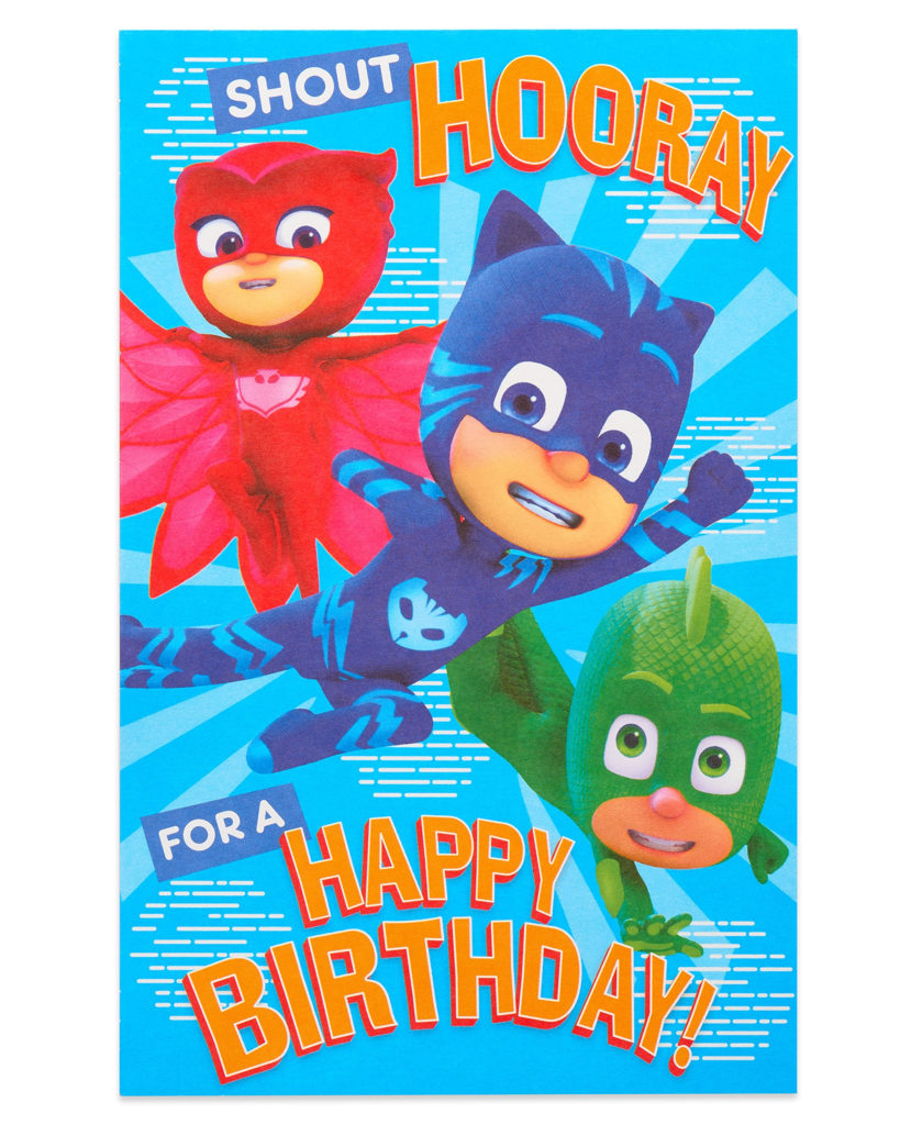 Amazon PJ Masks Wrapping Paper 20 Sq Ft Roll