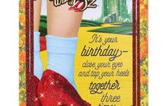 Wizard Of Oz Birthday Card Printable