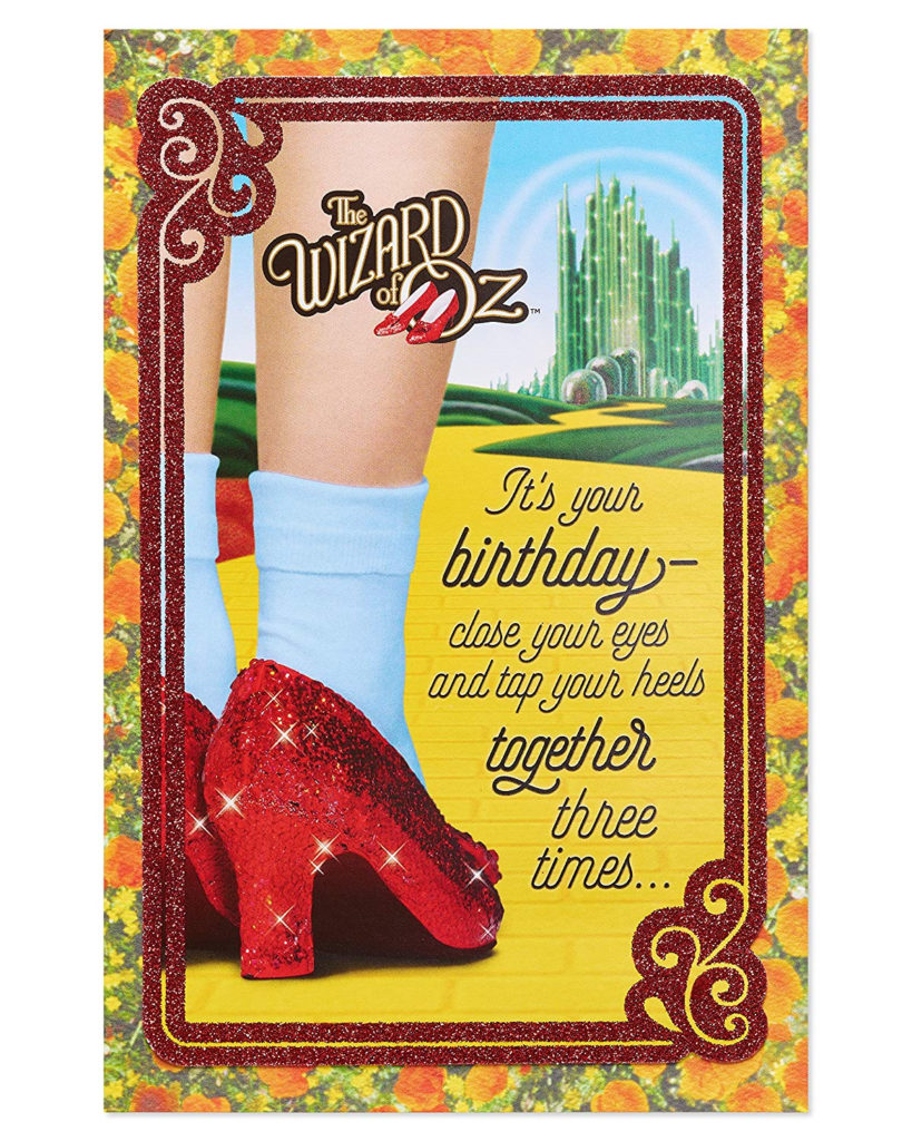 American Greetings Funny The Wizard Of Oz Birthday Card