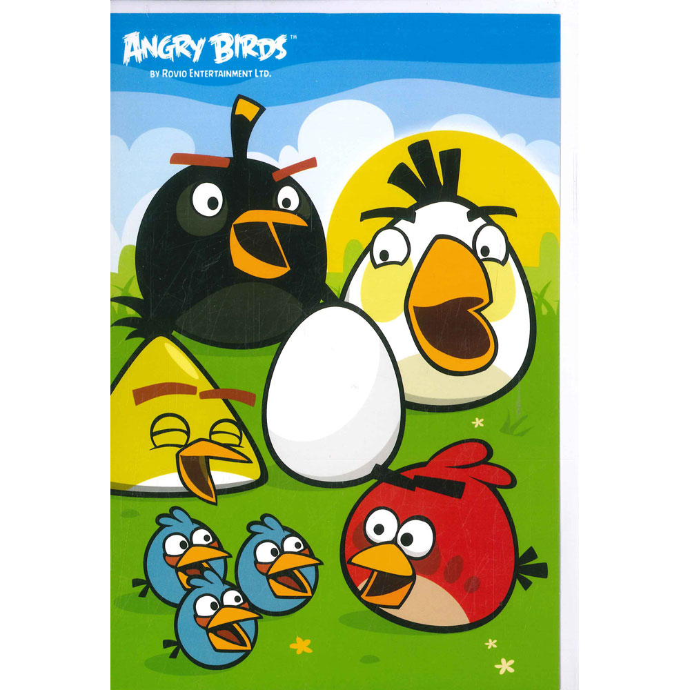 Angry Birds Birthday Card Birthday Cards At The Works