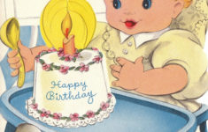 One Year Old Birthday Card Printable