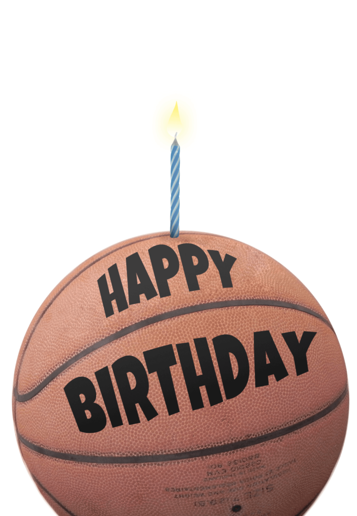 Basketball Birthday Card Greetings Island