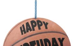 Basketball Birthday Card Printable