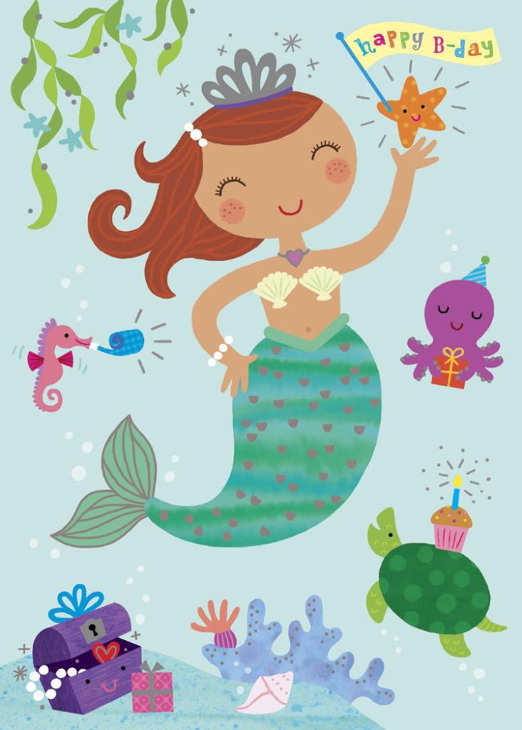 Betsy Snyder Mermaid Birthday Girl