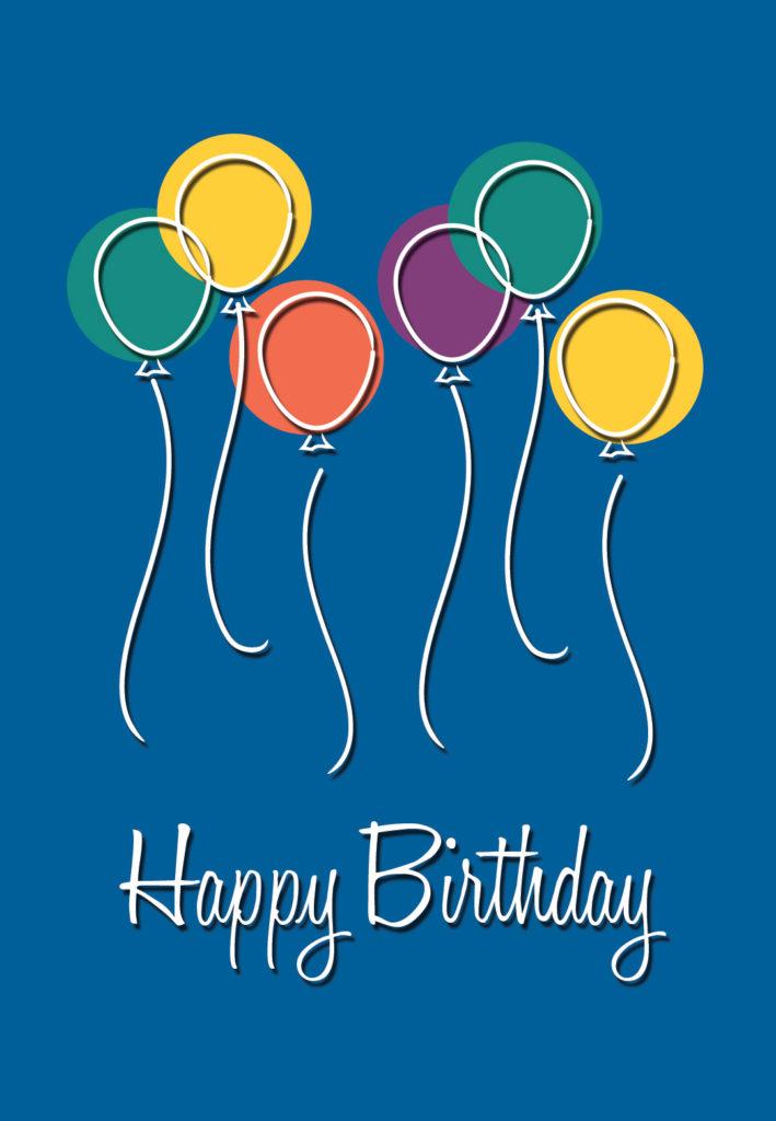 Birthday Balloons Birthday Card Free Greetings Island