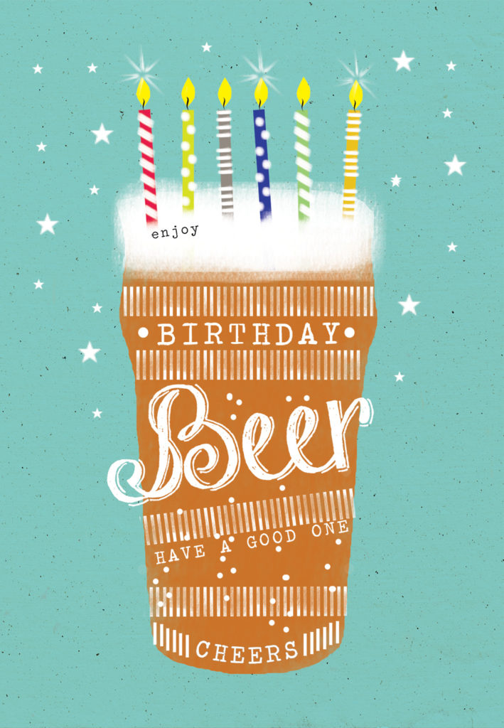 Birthday Beer Birthday Card Free Greetings Island