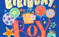 Free Printable Birthday Cards For 8 Year Old Boy