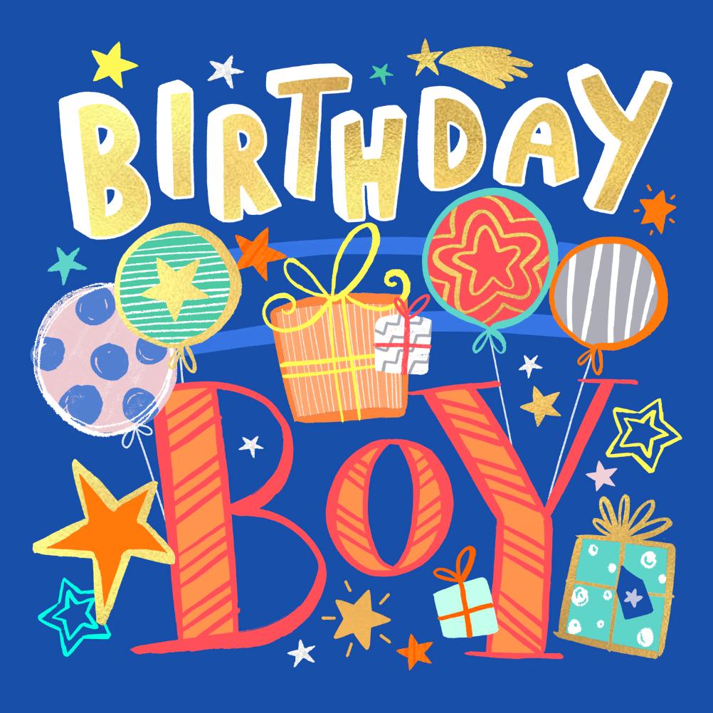 Birthday Boy Birthday Card Free Greetings Island