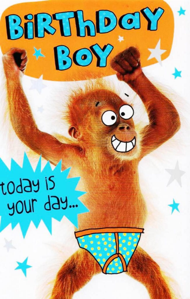 Birthday Boy Today Is Your Day To Go Bananas Funny