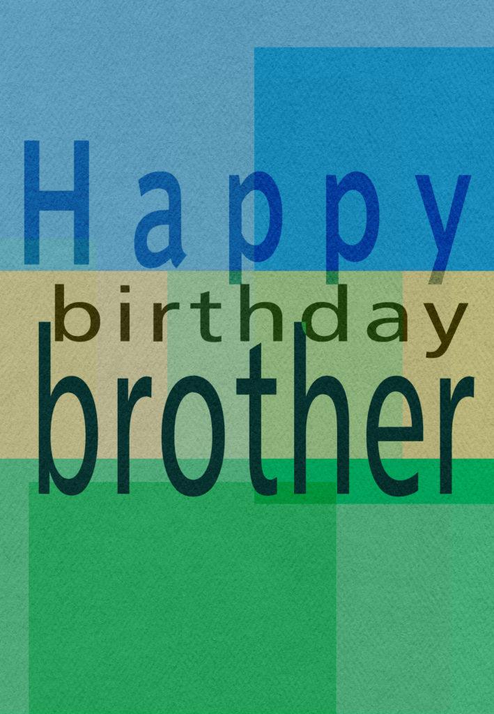 Birthday Brother Free Birthday Card Greetings Island