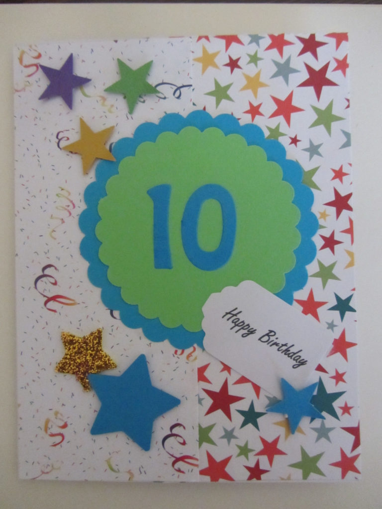 Birthday Card For 10 Year Old Old Birthday Cards