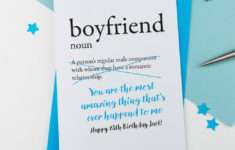 Boyfriend Birthday Cards Printable