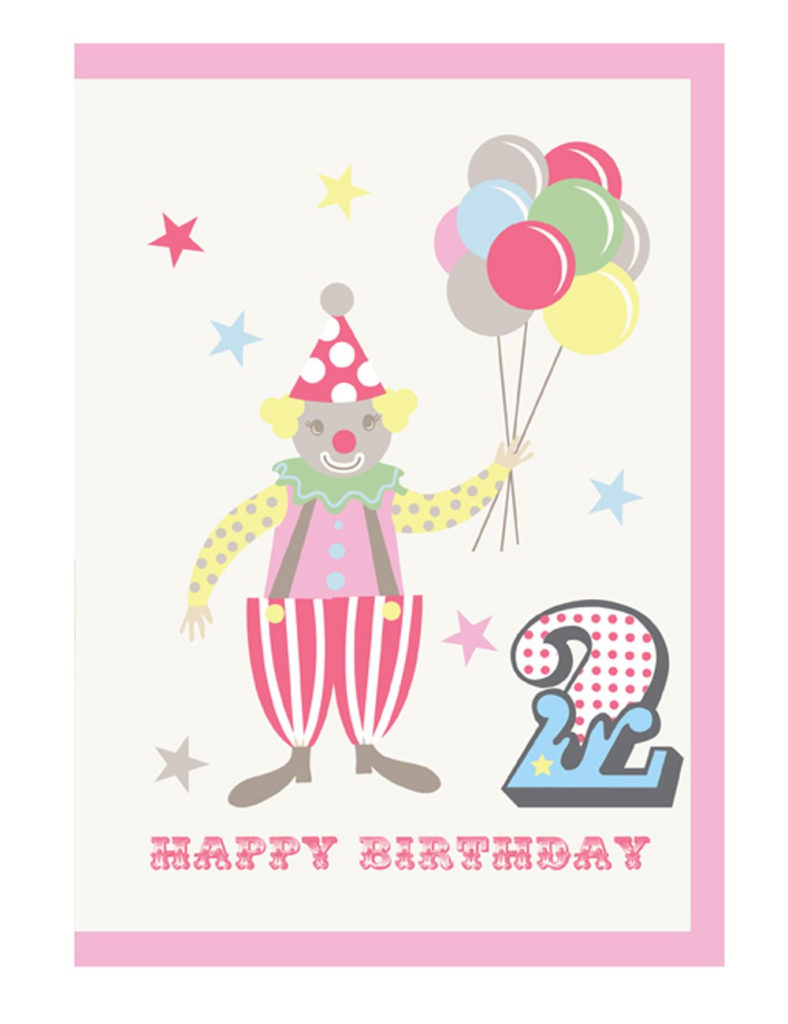 Birthday Card Happy 2nd Birthday Piccalilly