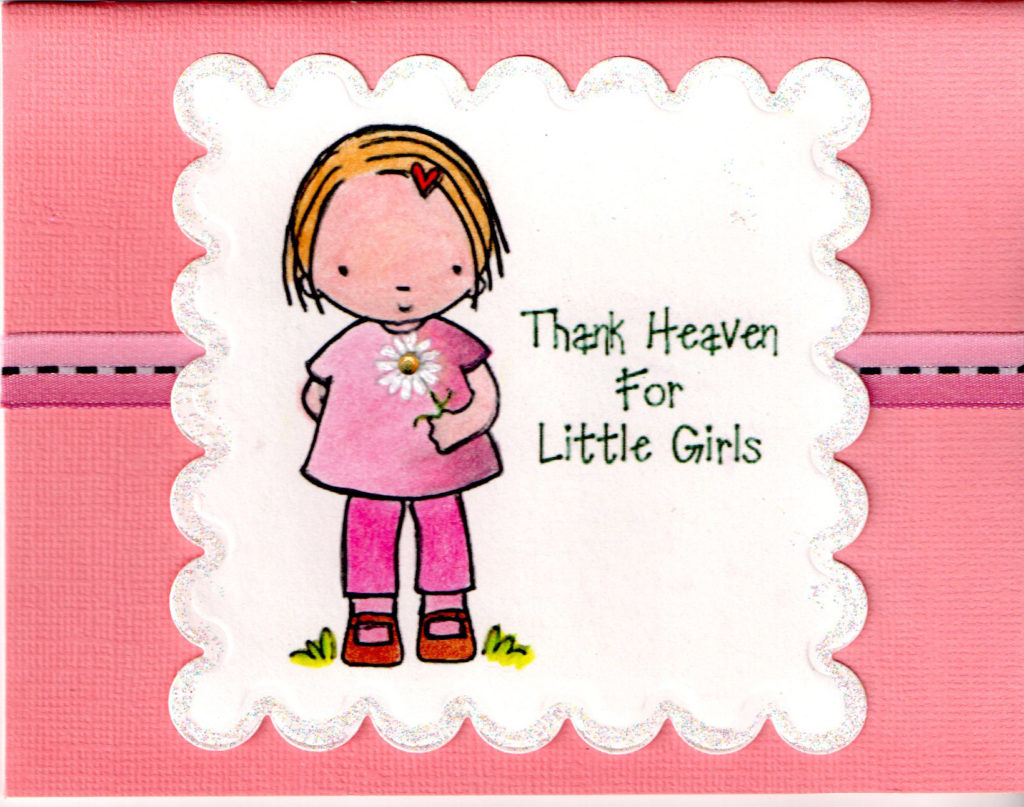Birthday Card Little Girl
