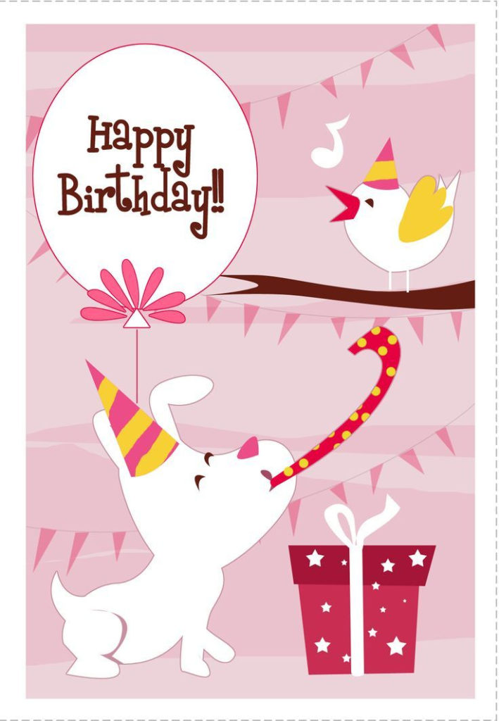 Birthday Card Printable 100 s Of Free Printable Cards To