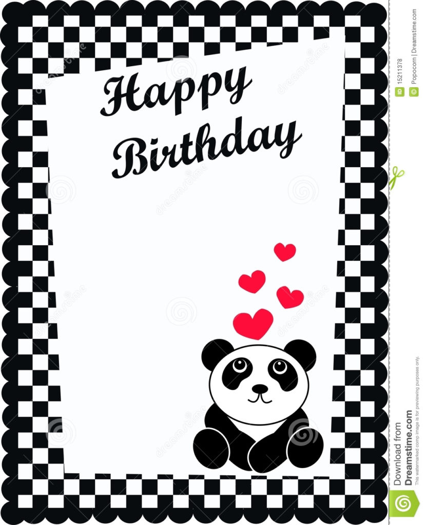 Birthday Card Stock Vector Illustration Of Childrens