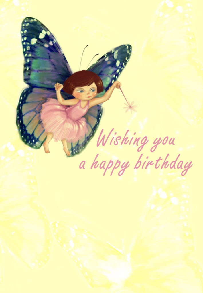 Birthday Fairy Birthday Card Free Greetings Island