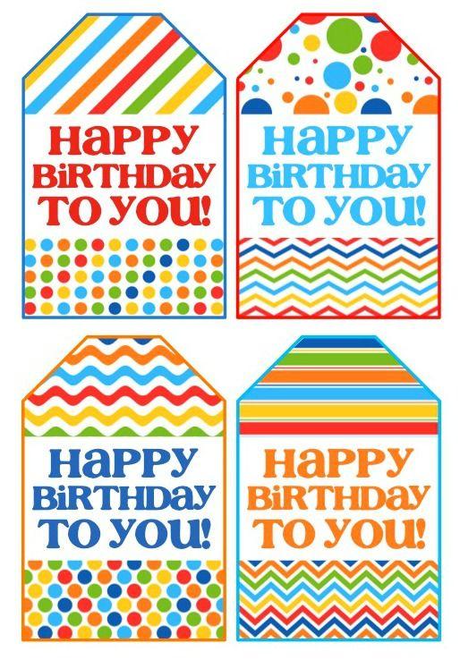 Birthday Gift In A Jar Happy Birthday Free Printable