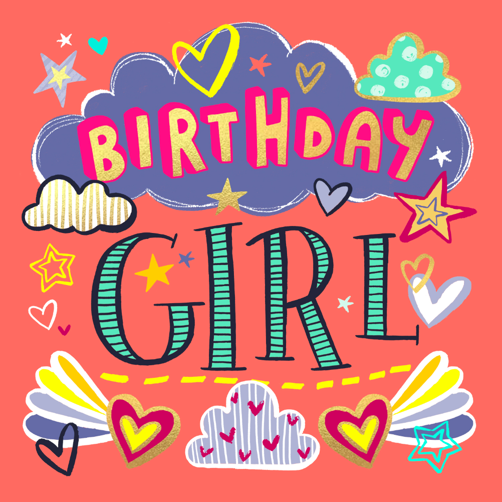 Birthday Girl Free Birthday Card Greetings Island