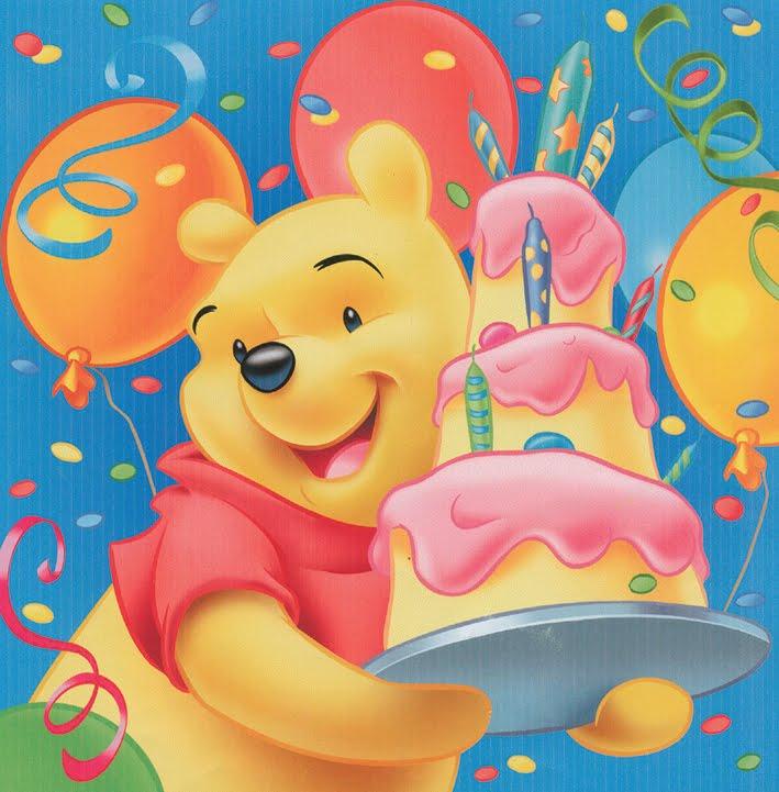 Birthday Greeting Cards Winnie The Pooh Birthday Cards