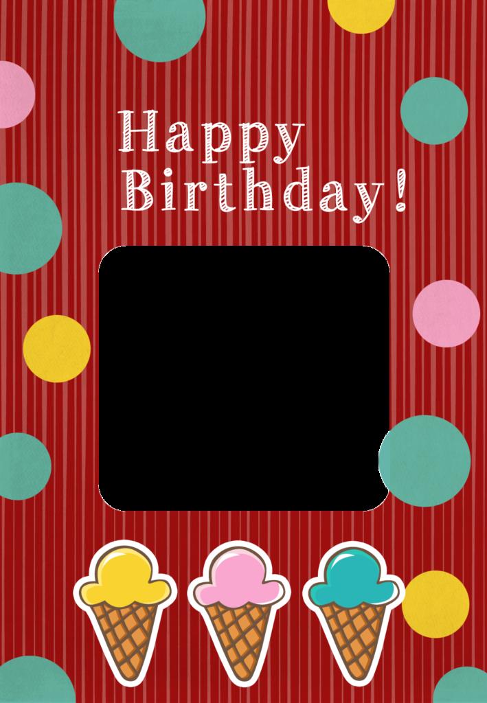Birthday Icecreams Birthday Card Free Greetings Island