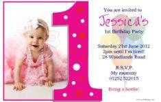 Printable Birthday Invitation Cards With Photo
