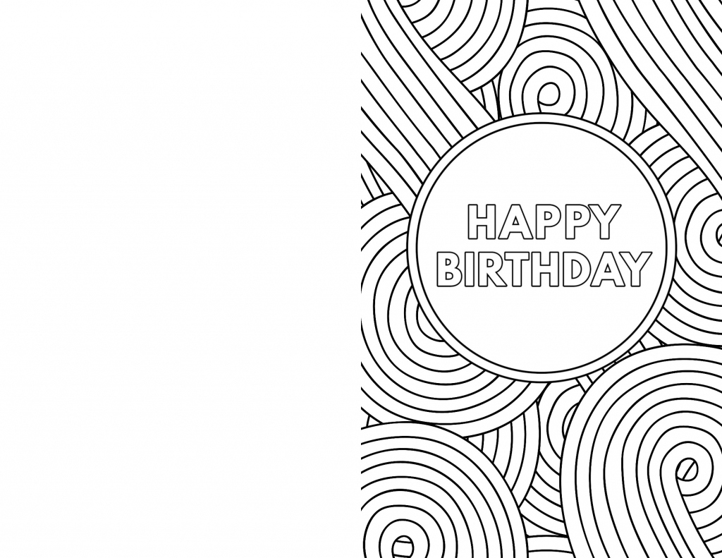 Black And White Birthday Cards Printable Printable Card Free