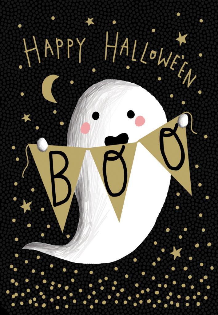 Boo Who Halloween Card Free Greetings Island