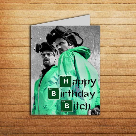 Breaking Bad Birthday Card Printable Happy By EnjoyPrintable