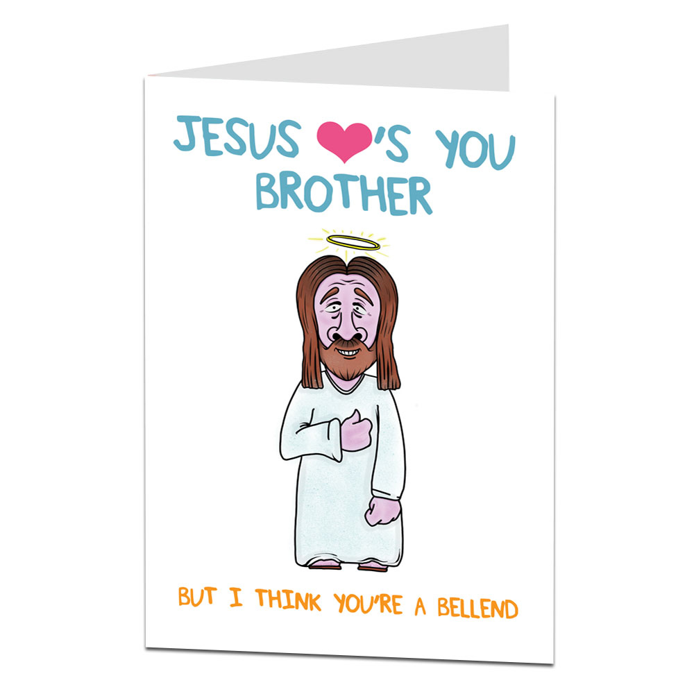 Brother Birthday Card Older Younger Little Perfect For
