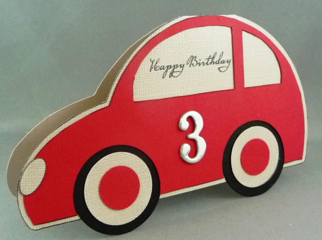 Car Birthday Card Cards Co
