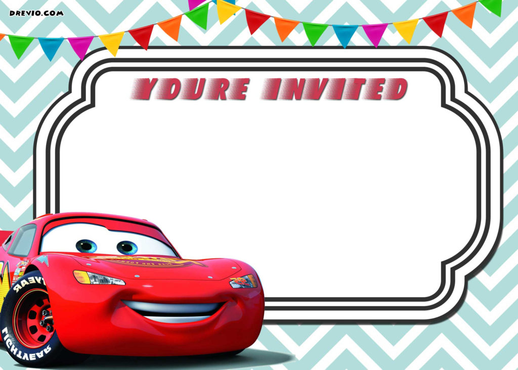 Cars 3 Invitation Template How To Download It Bagvania